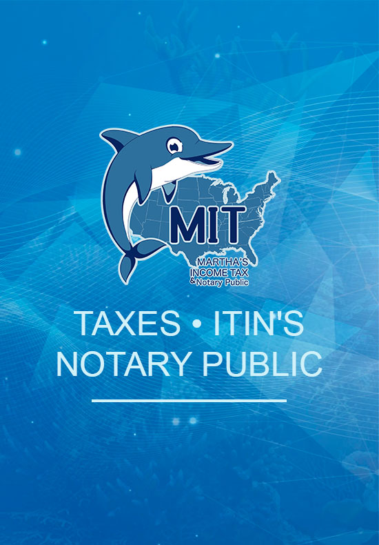 Martha's Income Tax - Homepage